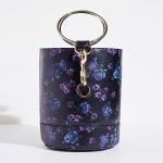 TINY Flower Bag [Purple, Black]