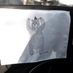 자석형 차량용 햇빛가리개 허니베어