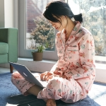 [w] Floral Pajama Set