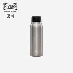 [1+1,한정수량]리버스 플라스커 보온병 스텐 텀블러 420ml 실버