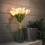 핑크 튤립 부케 LED 무드등
