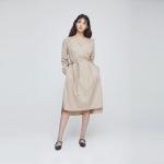 WEEKENDER DRESS (Beige)