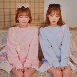 [LEEGONG] 핑크오브락 맨투맨 티셔츠