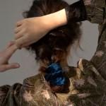 velvet scrunchie (3colors)