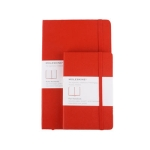 Moleskine Ruled Notebook (라지) - 레드커버 1MQP060R