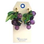 Grape Earring