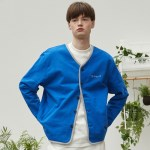 RC sweat cardigan (cobalt blue)