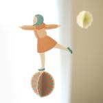 Girl & ball - MOBILE