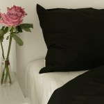 Everyday cotton bedding Black