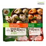 [풀무원]얇은피꽉찬속 김치만두 2봉+고기만두 2봉(총4봉)