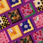 [위글위글] 패턴 손수건