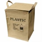 쥬트 사각 분리수거함 - 플라스틱