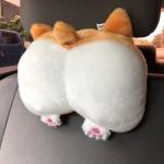 핵인싸! 갓샵 웰시코기 차량용 사무실 의자 목쿠션 목베개