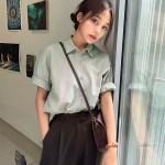 오브니 반팔 셔츠 (4colors)