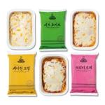 [5팩] 밀스원 멜팅치즈 이태리 스파게티 3종