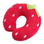 극세사목베개-딸기
