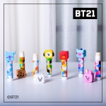 우주스타 BT21 피규어 립밤 7가지향기 온가족입술보습