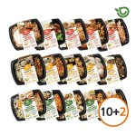 (10+2) 다즐샵다이어트 식단 도시락 15종 10팩+2팩