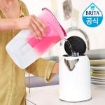 브리타 필터형 정수기 펀 1.5L 핑크 +필터 1개월분 (기본구성)