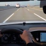 초보운전 차선유지 가이드라인 LED 스트라이트