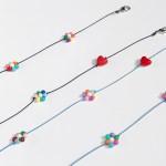 multi flower mask strap (2colors)