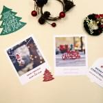 [제미포티] 폴라로이드형 크리스마스 엽서 2종 세트