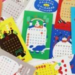 2021 Animal friends calendar sticker