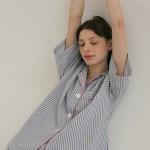 (w) Blue Mountains Short Pajama Set