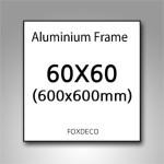 60x60cm 무광 알루미늄 액자 ( 8종류 색상 )