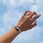 5194 소가죽 라운드 손목시계 (5color)
