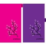 그로비쥬 6공스프링 기본형 95×170-만년다이어리 리필용 핑크속지