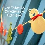 크리스마스 미니 가랜드