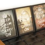 Soho KEEP CALM 포스터 - London