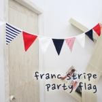 프랑 스트라이프 파티 플래그