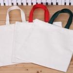 꾸미기 가방(중)-광목색끈