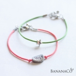 Hope & Star bracelet(2개 1세트)