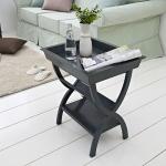 프렌치 블루블랙 트레이 테이블