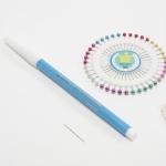 (3종) 초보자용 기본세트 - 수성펜,원형시침핀,퀼팅바늘