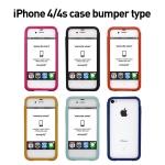 iPhone 4/4s case bumper type