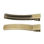 Antique plating 3.5cm_5cm_6cm_8cm 사각집게핀