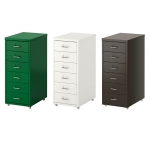 HELMER Drawer unit on castors 철재 서랍장
