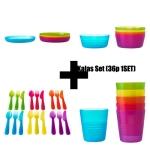 [SET]KALAS 유아식기셋트 Bowl+Plate+Mug+cutlery