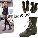 Lace up middle boots_KM12w204