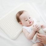 [슬립스파][베이비클라우드] 넓고 편안한 아기 라텍스 베개