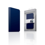 D5 Calf Skin Leather Case for iPhone 4/4S Navy
