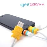 아이폰 5 이어폰 & 충전케이블 보호  igee 2 color bear