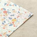 Fabric Sticker - Wedding : bouquet