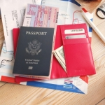 LAYBLOCK TRAVEL EASY PASSPORT GoldPink