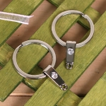 큐빅 삼각키링(열쇠고리)