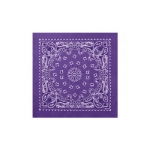 [rothco] 22inch trainmen bandana purple